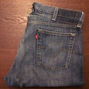 Levi's Jeans - Levi's 514 Slim Straight Blue Green Denim B25